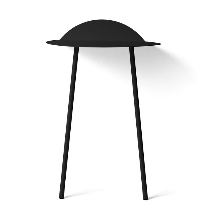 Yeh Wand-Tisch hoch von Menu in Schwarz