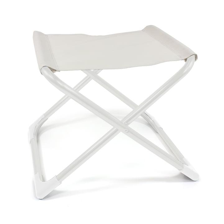 Fiam - Chico Hocker, Aluminium weiß / weiß