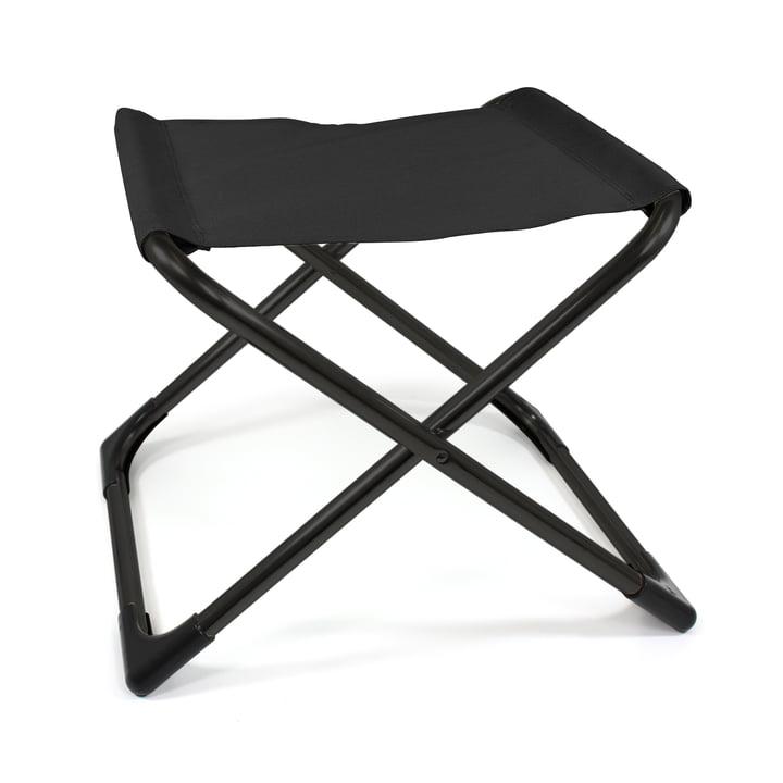 Fiam - Chico Hocker, Aluminium schwarz / schwarz