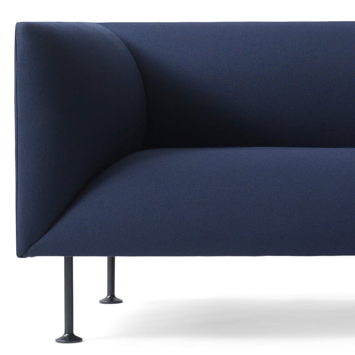 Detailansicht des Menu Godot Sofa in Dunkelblau