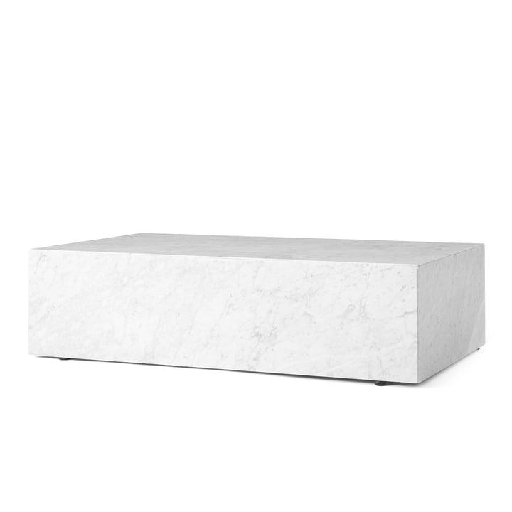 Plinth Couchtisch von Menu in Weiß