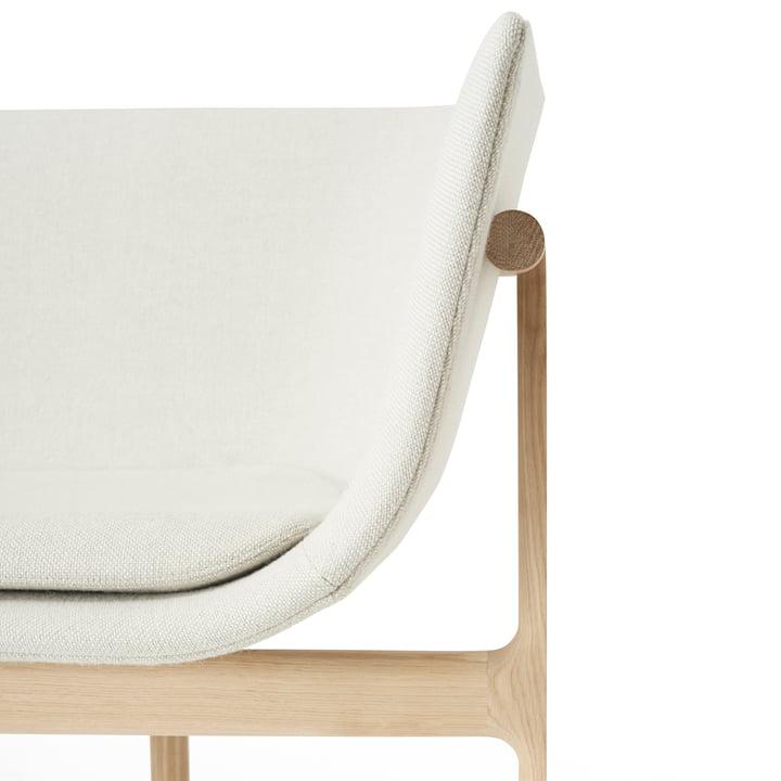 Detailaufnahme des Tailor Lounge Sofa von Menu