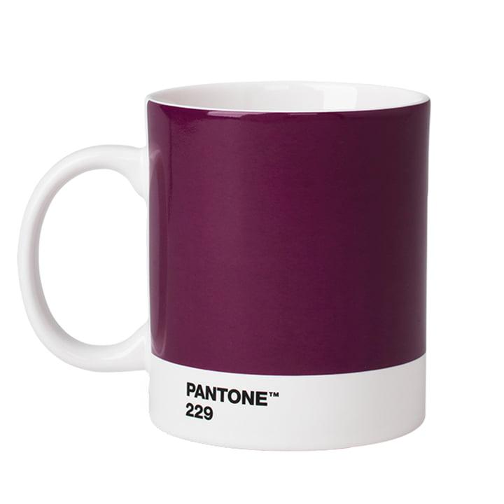 Becher von Pantone in Aubergine (229)
