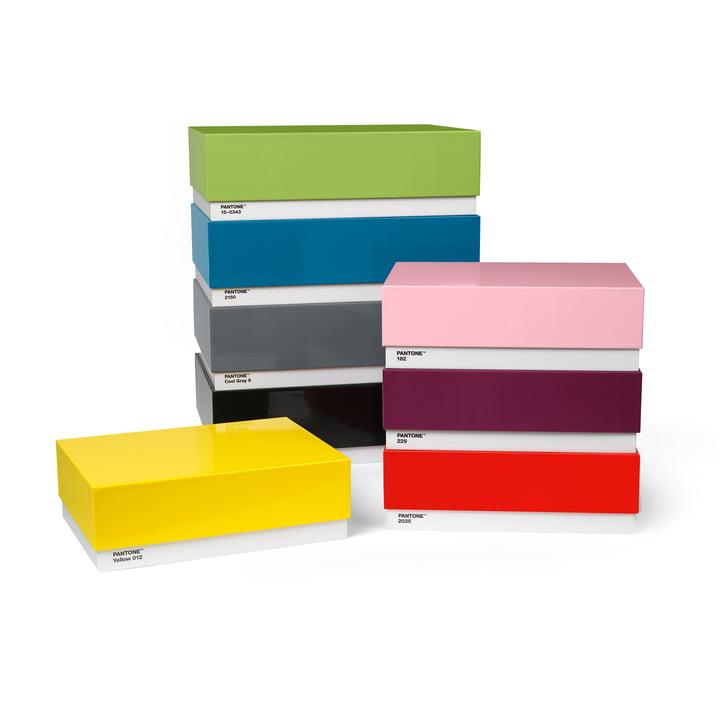 Storage Box (2er-Set) von Pantone Universe