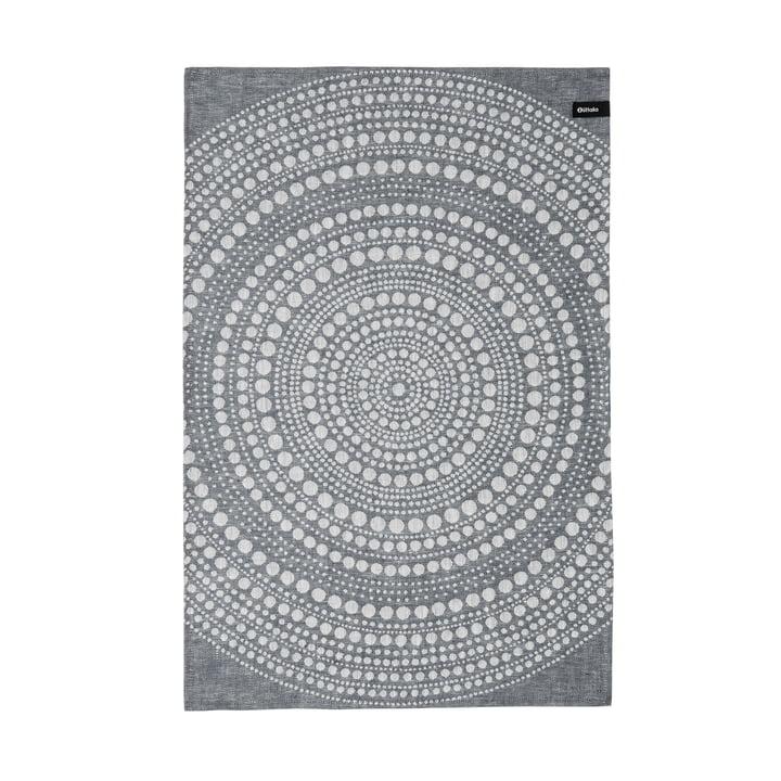 Kastehelmi Geschirrtuch 47 x 70 cm von Iittala in Dunkelgrau