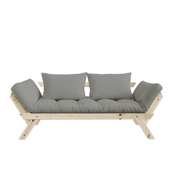 Bebop Sofa von Karup Design in Kiefer natur / Grau - 746