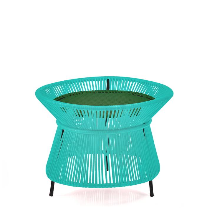 ames - caribe Basket Table, mint / grün / schwarz