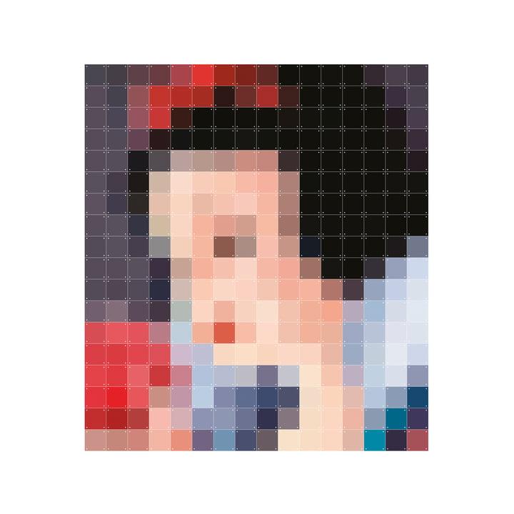 Schneewittchen (Pixel) von IXXI in 160 x 180 cm