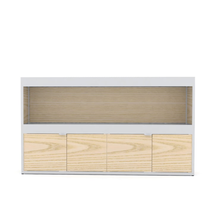 Hay - New Order Shelf Kitchen 150 x 90 cm, hellgrau / Esche