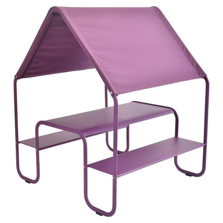 Picnic Kinderhütte / Spielhaus von Fermob in Aubergine