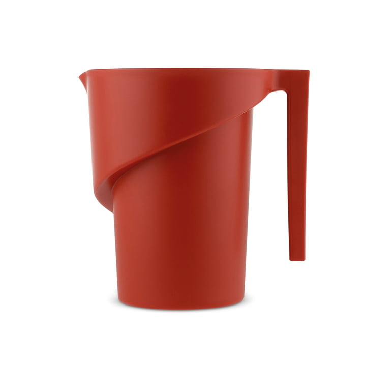 Twisted Messbecher von A di Alessi in Rot