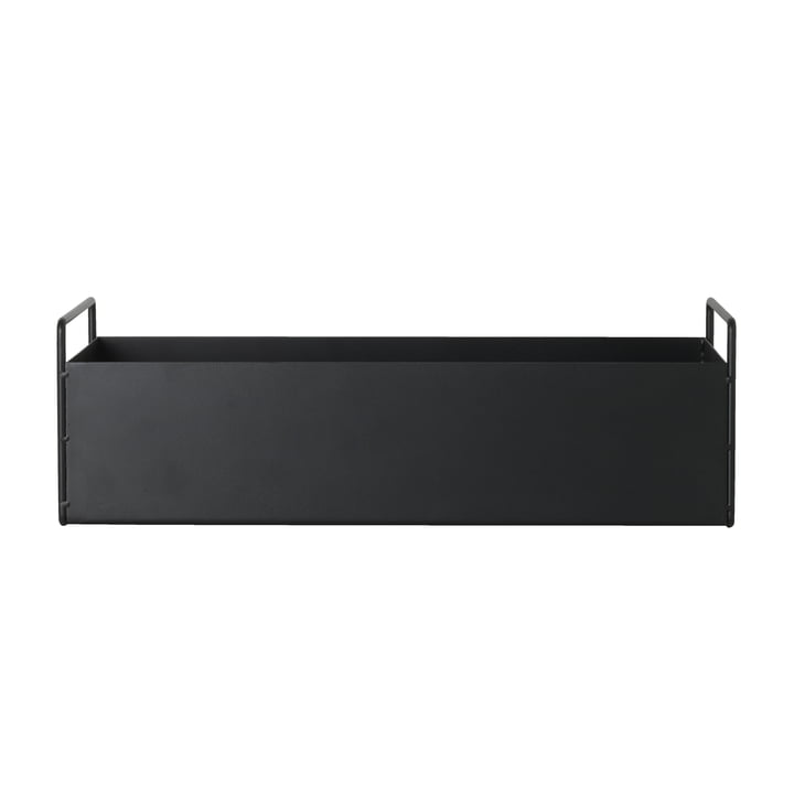 ferm Living - Plant Box small, schwarz