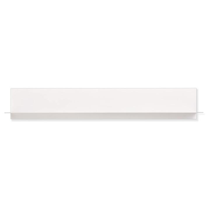 Single Paper Regal Long von Design Letters in Weiß