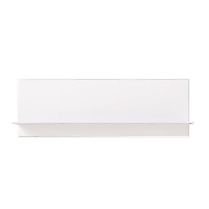 Single Paper Regal von Design Letters in Weiß