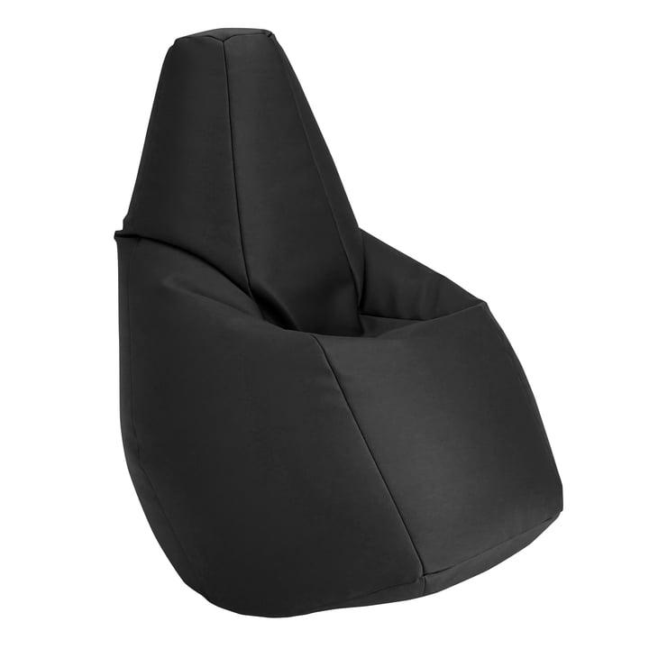 Sacco Sitzsack von Zanotta in VIP Schwarz
