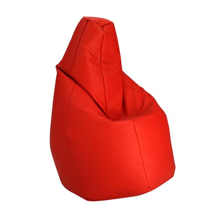 Sacco Medium von Zanotta in VIP Rot