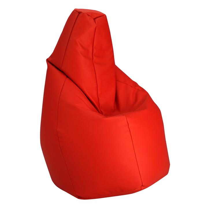 Sacco Sitzsack von Zanotta in VIP Rot