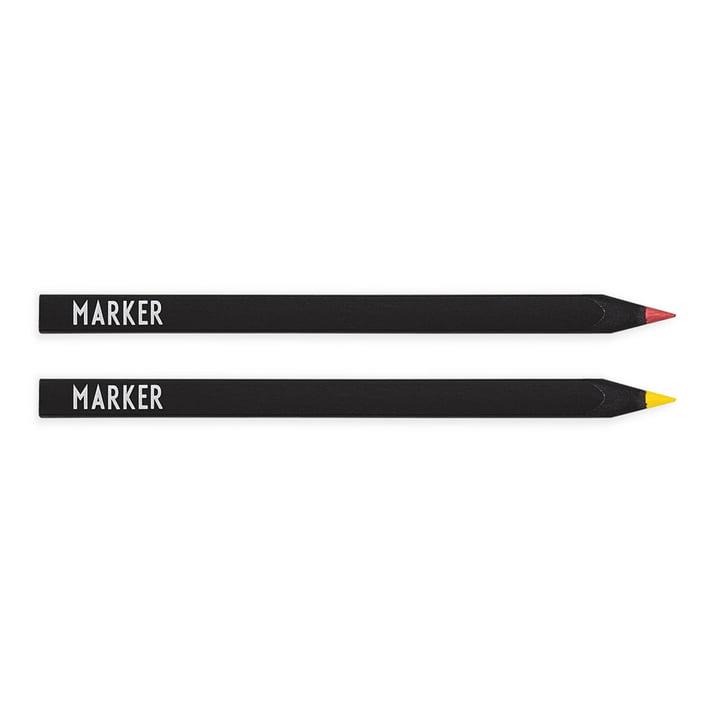Textmarker im 2er-Set von Design Letters