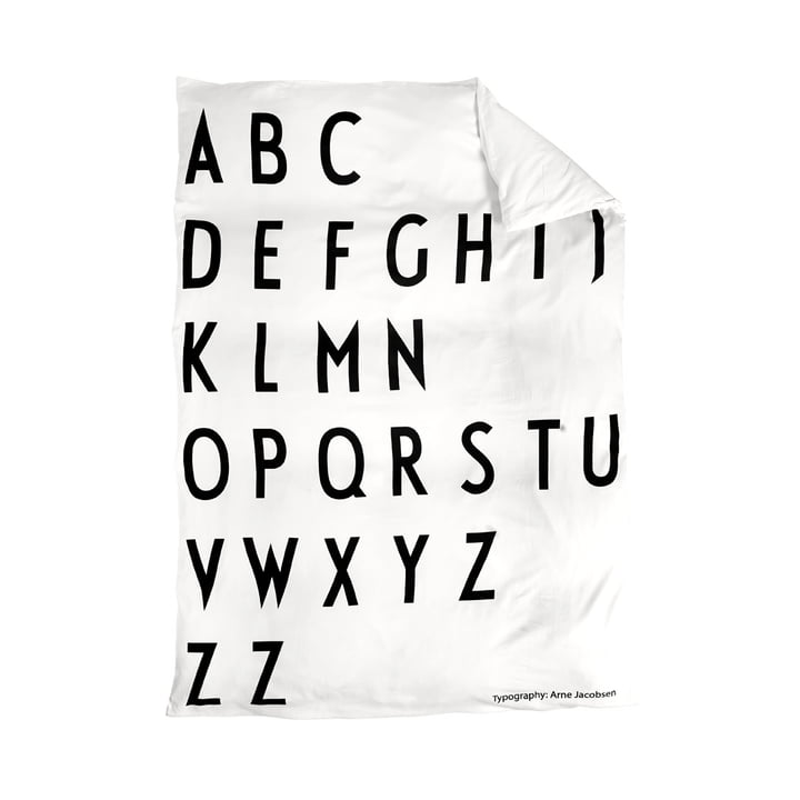 Deckenbezug 140 x 200 cm von Design Letters