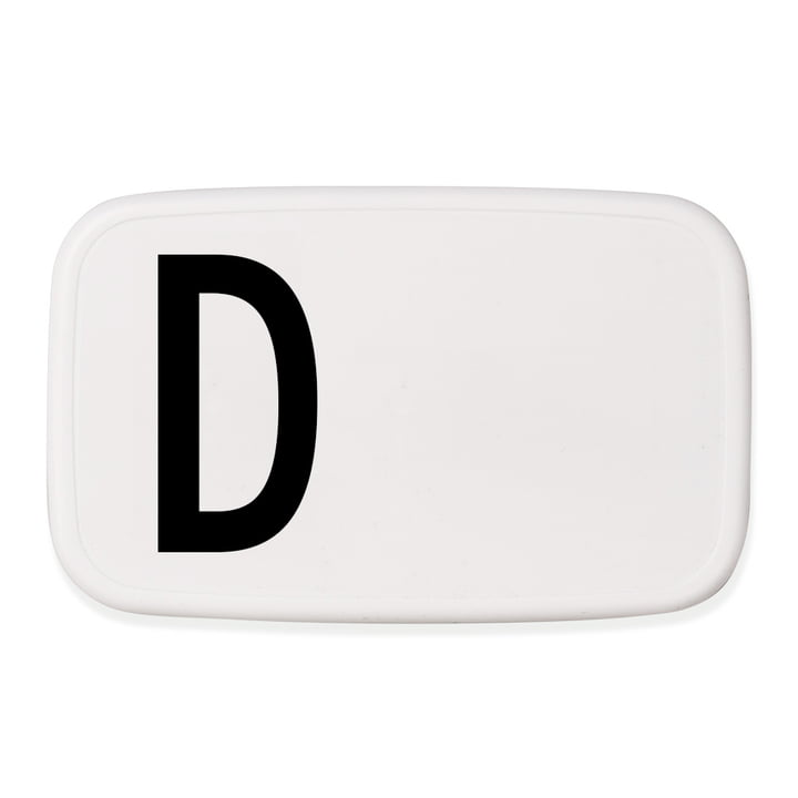 Personal Lunch Box D von Design Letters