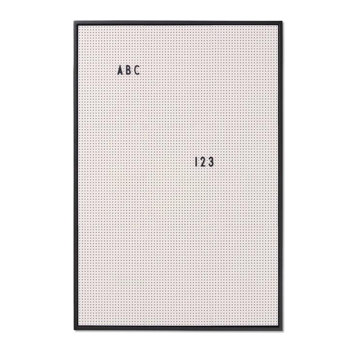 Message Board A2 von Design Letters in Grau