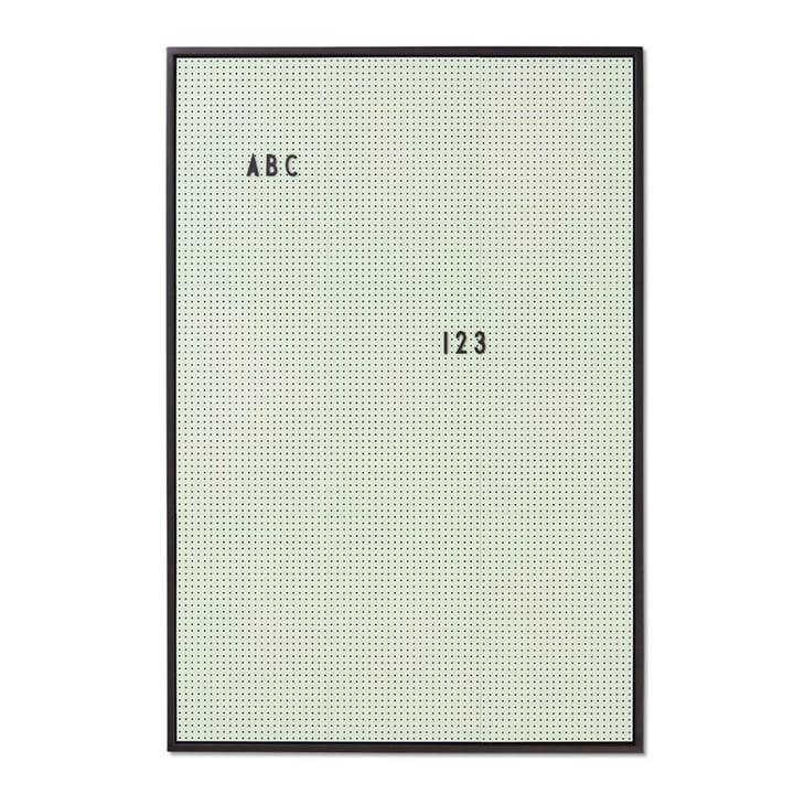 Message Board A2 von Design Letters in Grün