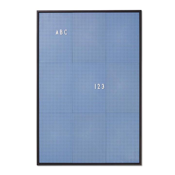 Message Board A2 von Design Letters in Blau
