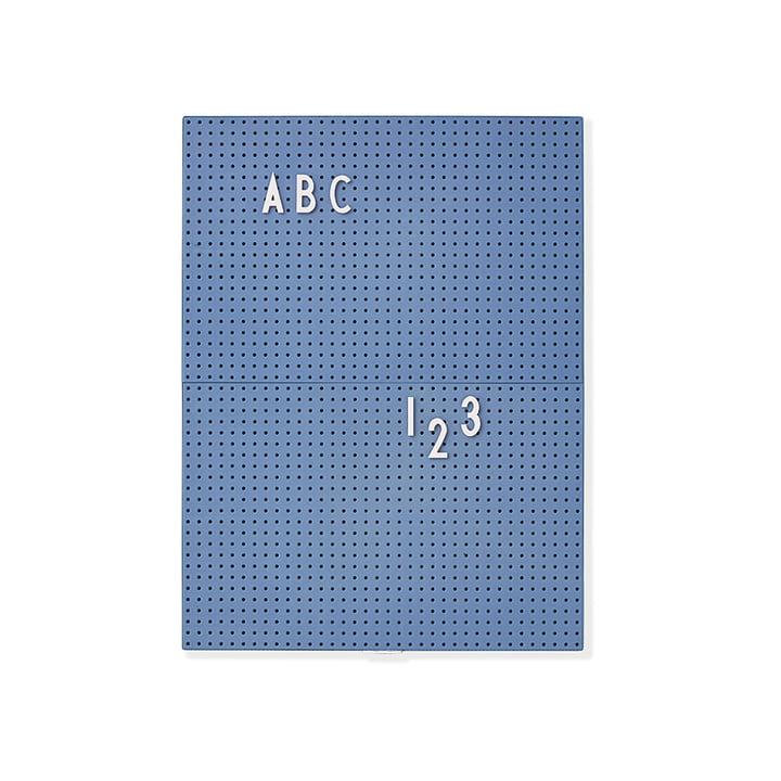 Message Board A4 von Design Letters in Blau