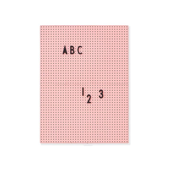 Message Board A4 von Design Letters in Pink