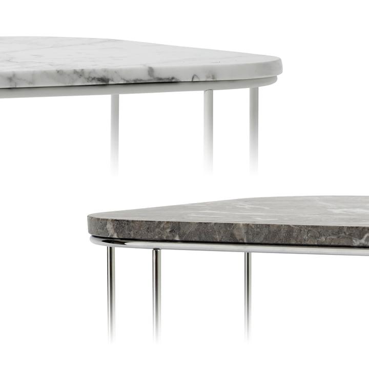 FUWL Cage Table von Menu mit Marmor