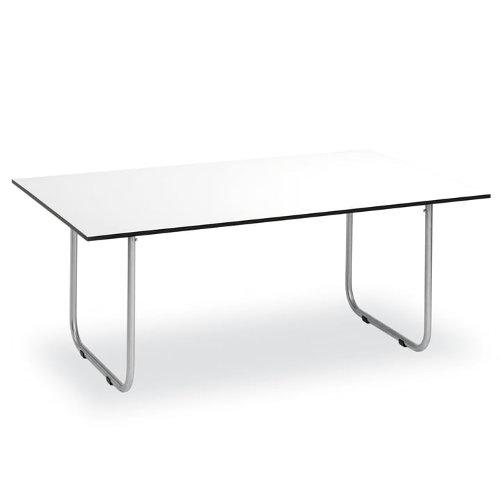 Prato Tisch 180 x 90 cm von Weishäupl mit HPL Belattung in Weiß