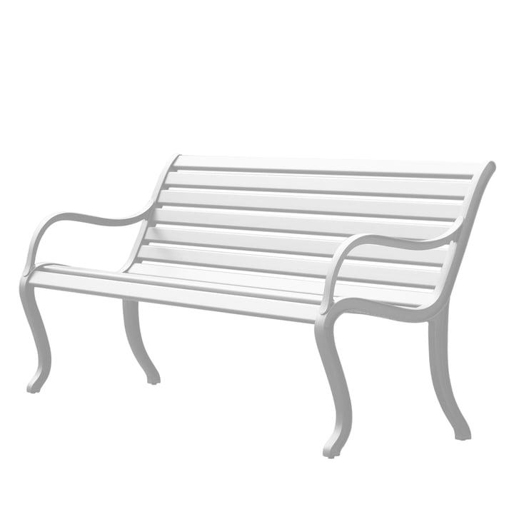 Oasi Sitzbank 127 cm von Fast in Weiß