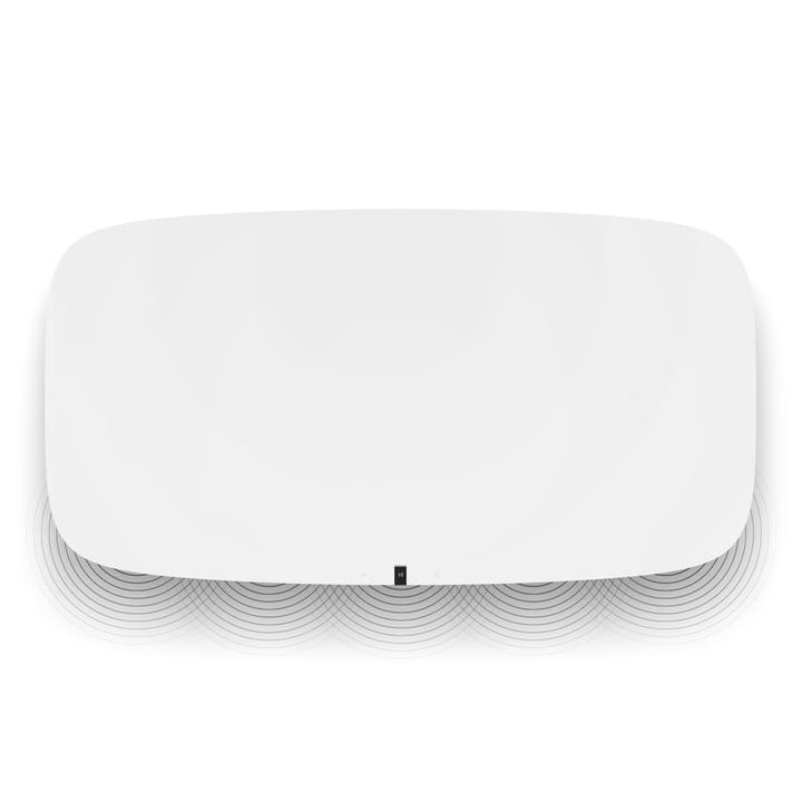 Sonos PLAYBASE von oben in weiß