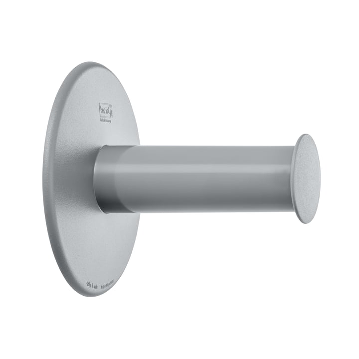Koziol - Plug'n Roll Toilettenpapierhalter, cool grey