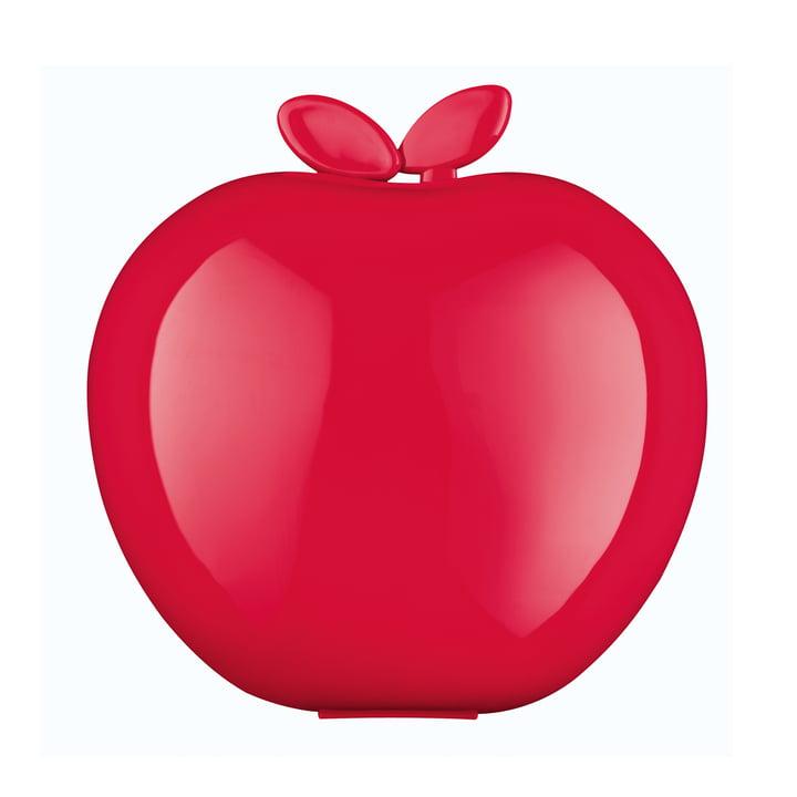Rote Koziol-Brotdose in Apfelform
