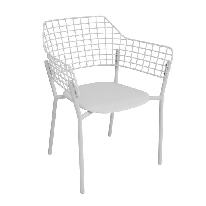 Lyze Armlehnstuhl von Emu in Weiß
