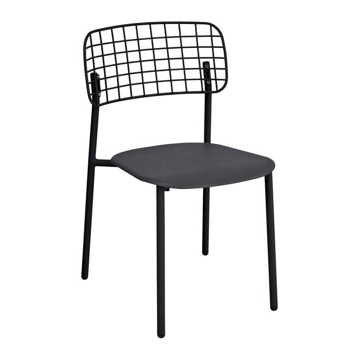 Lyze Stuhl von Emu in Schwarz