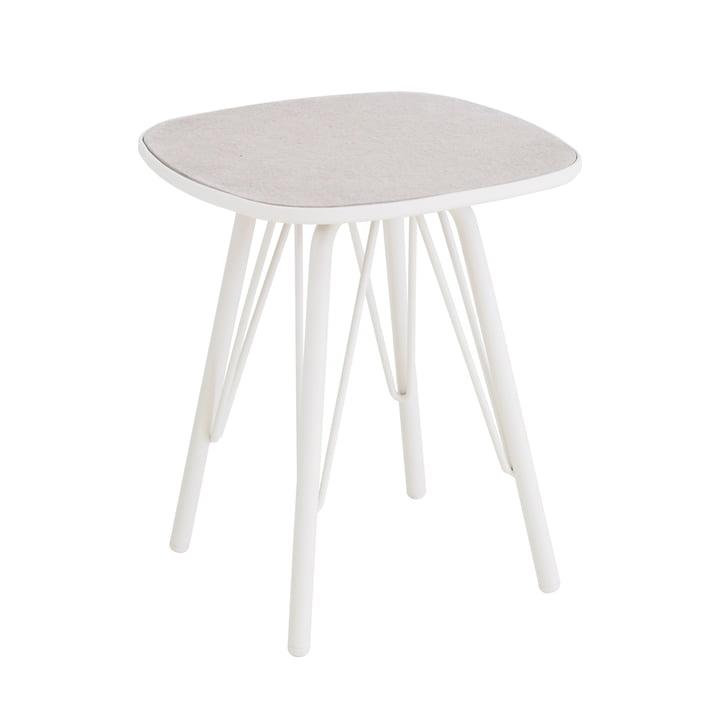 Lyze Tisch 40 x 40 cm von Emu in Weiß