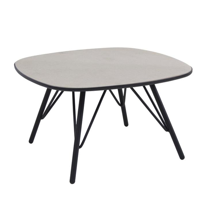 Lyze Tisch 70 x 70 cm von Emu in Schwarz