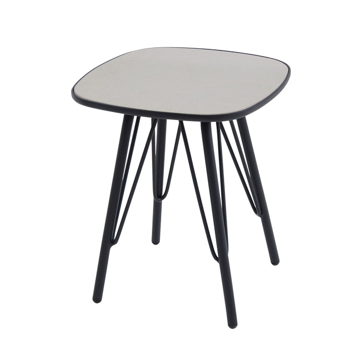 Lyze Tisch 40 x 40 cm von Emu in Schwarz