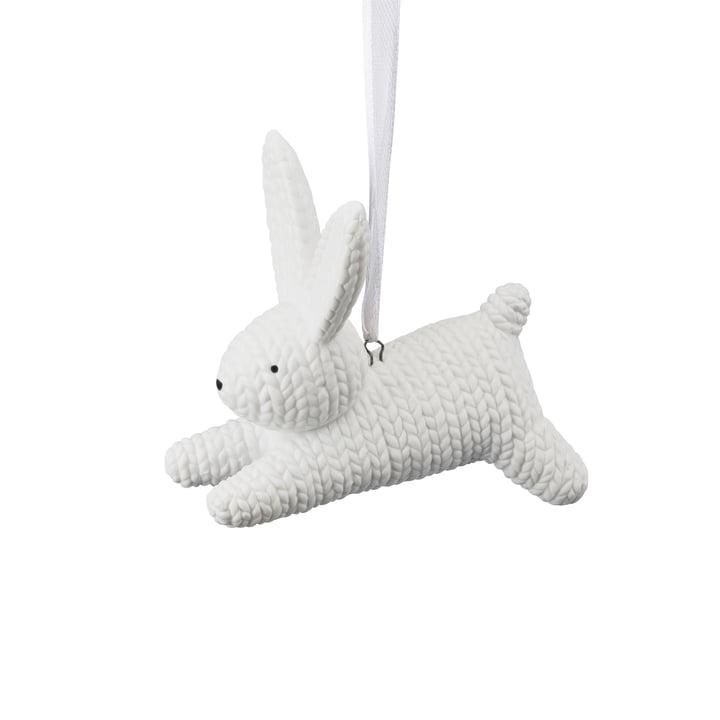 Anhänger Hase klein von Rosenthal in Weiß