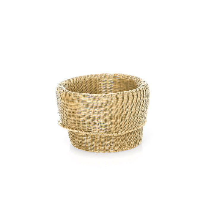 Fibra Basket small von ames in Natur