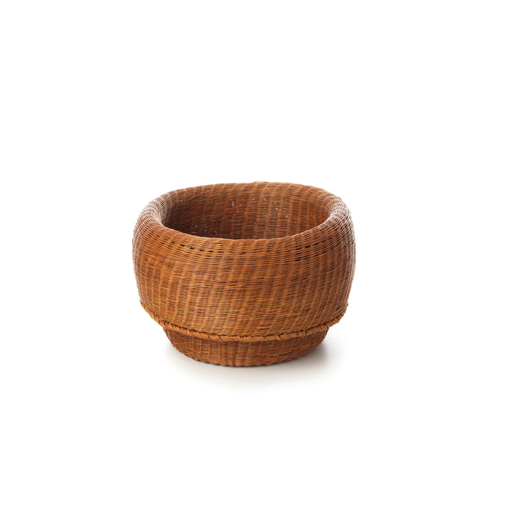 Fibra Basket small von ames in Kupfer