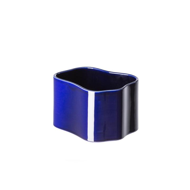 Riihitie Übertopf (Form B) in klein von Artek in Blau