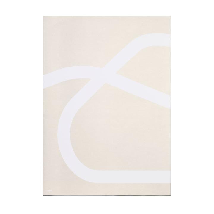 Outline Poster 50 x 70 cm Lounge Chair 43 von Artek