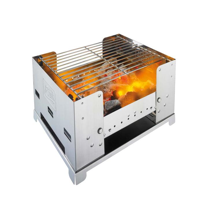 Klappbarer Kohlegrill BBQ300S von Esbit