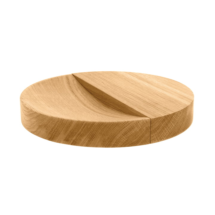 Split Bowl Massivholzschale von Schönbuch in Eiche natur geölt