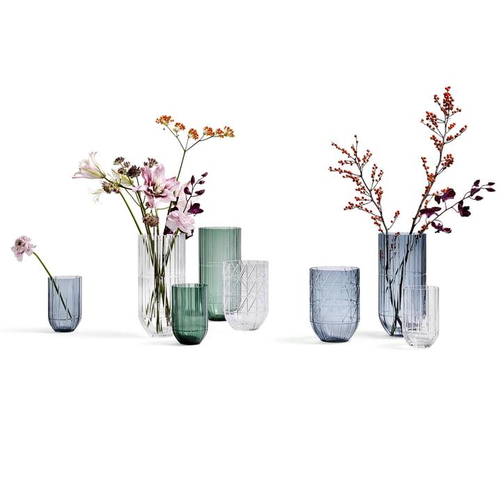 Colour Vase Glasvase von Hay
