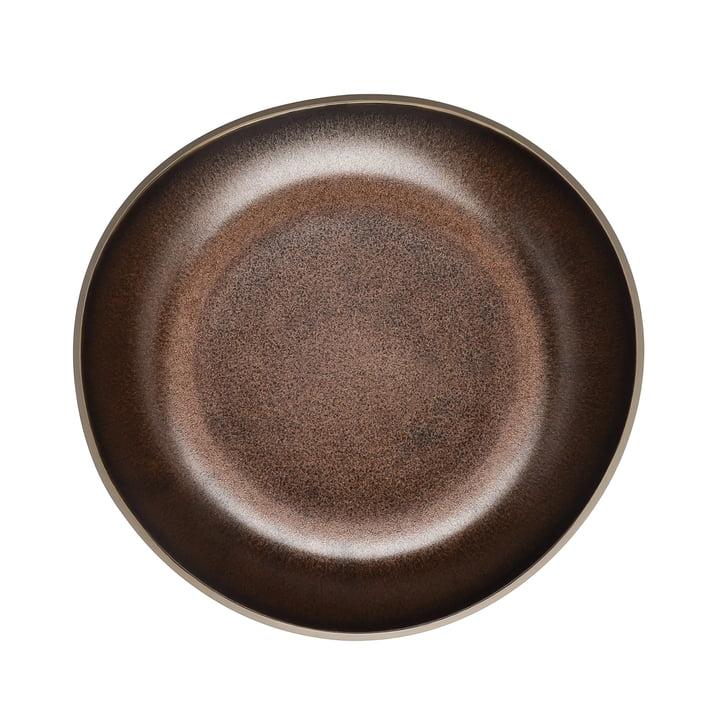 Junto Teller Ø 22 cm flach von Rosenthal in Bronze