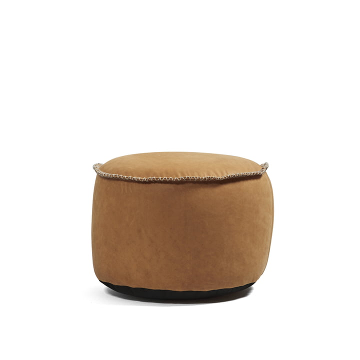 Retro it Dunes Drum Indoor von Sack it in Leder Cognac